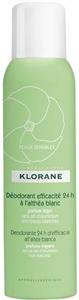 Klorane Fehérmályva Dezodor Spray