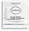 L'Occitane Reine Blanche Instant Illuminating Sheet Mask