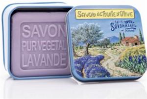 La Savonnerie de Nyons Levendula Szappan Shea Vajjal és Oliva Olajjal