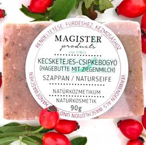 Magister Products Kecsketejes Csipkebogyó Szappan