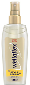 Wellaflex Style&Repair Hajformázó Tej-Spray