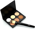 6 Colors Makeup Face Cream Contour Kit Concealer Palette