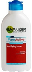 Garnier Pure Active Pattanás-csökkentő Tonik