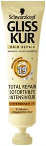 Gliss Kur Total Repair Azonnali Regeneráló Hajpakolás