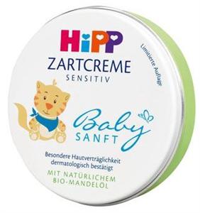 Hipp Zartcreme Sensitiv Babysanft Babakrém
