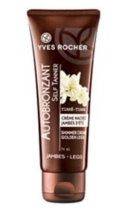 Yves Rocher Le Soin Végétal Corps Gyöngyházfényű Önbarnító Krém Lábra