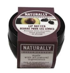 Naturally Upper Canada Pressed Olive Avocado Lip Butter