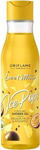 Oriflame Love Nature Ice Pops Hűsítő Tusolózselé Maracujával és Ananásszal