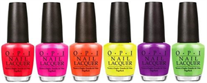 OPI Little Bits Of Neon Collection
