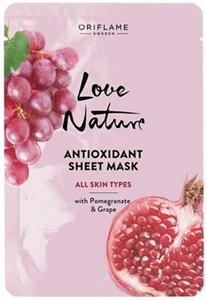 Oriflame Love Nature Antioxidant Fátyolmaszk Minden Bőrtípusra