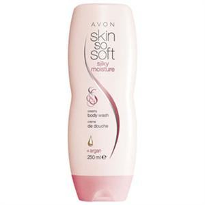 Avon Skin So Soft Selymesen Hidratáló Krémtusfürdő Argánolajjal
