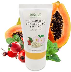 Biola Bio Vadvirág Bőrmegújító Peeling