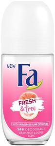 Fa Fresh & Free Grapefruit-Lychee Golyós Deo