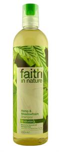 Faith In Nature Kender és Tajtékvirág Sampon
