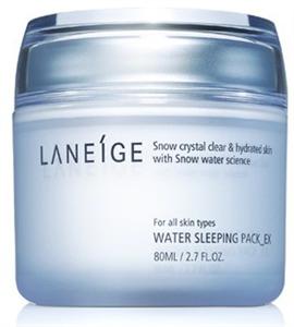 Laneige Water Sleeping Pack Éjszakai Hidratáló