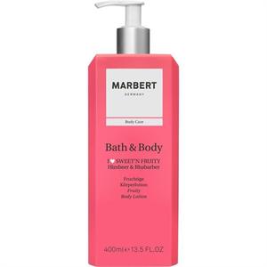Marbert Bath & Body Bodylotion Himbeer & Rhabarbe