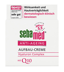 Sebamed Anti-Aging Aufbau-Creme Hyaluron Complex mit Q10