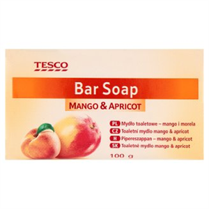 Tesco Mango & Apricot Mangó- és Sárgabarack-Illatú Pipereszappan