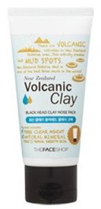 Thefaceshop Volcanic Clay Mitesszer Eltávolító Lehúzható Maszk