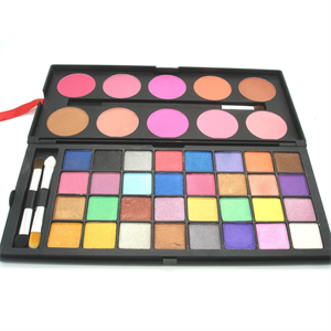 Blank Canvas Cosmetics 32 Eyeshadow 10 Colour Blush Palette