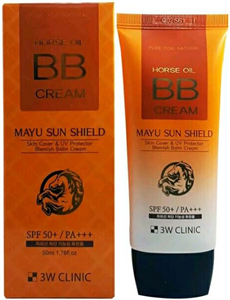 3W Clinic Horse Oil BB Cream