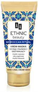 AA Ethnic Beauty Marokkó Rituálé Kéz és Körömápoló Krém-Maszk