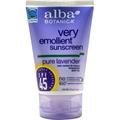 Alba Botanica Very Emollient Pure Lavender Sunscreen SPF45