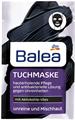 Balea Tuchmaske mit Aktivkohle-Vlies