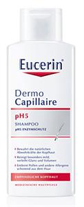 Eucerin DermoCapillaire Ph5 Kímélő Sampon