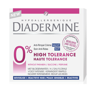 Diadermine 0% High Tolerance Anti-Age Nappali Krém