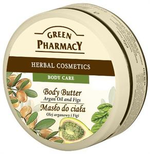 Green Pharmacy Gyógynövényes Testvaj Argán Olaj és Füge