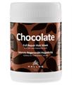 Kallos Csokoládé Intenzív Regeneráló Hajpakolás Száraz és Töredezett Hajra