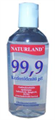 Naturland 99,9 Kézfertőtlenítő Gél