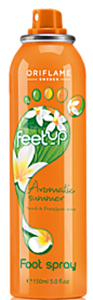 Oriflame Feet Up Aromatic Nyári Lábspray