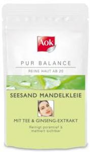 AOK Pur Balance Seesand Mandelkleie Arcmaszk és Arcradír