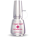 Crystal Nails Top Shine Átlátszó Fényzselé