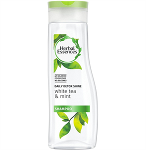 Herbal Essences Daily Detox Shine White Tea & Mint Sampon