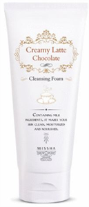 Missha Creamy Choco Latte Cleansing Foam