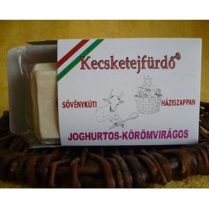 Kecsketejfürdő Sövénykúti Kecsketej Szappan – Joghurtos-Körömvirágos