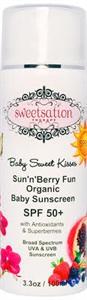 Sweetsation Therapy Sun'n'berry Fun Organic Baba Napvédőkrém SPF50+