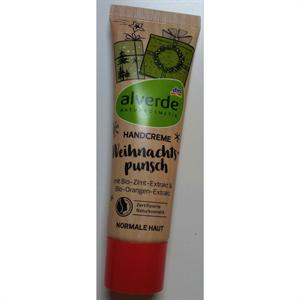 Alverde Handcreme Weihnachtspunsch Mit Bio-Zimt-Extrakt & Bio-Orangen-Extrakt