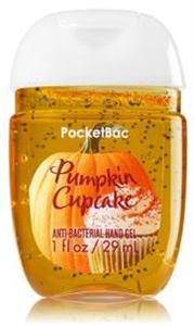 Bath & Body Works Pocketbac Pumpkin Cupcake Anti-Bacterial Hand Gel