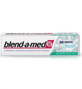 Blend-A-Med 3D White Fresh Extreme Mint Kiss Fogkrém
