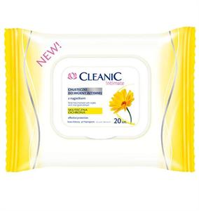 Cleanic Intim Törlőkendő Körömvirág