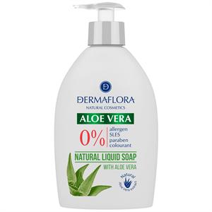 Dermaflora 0% Folyékony Szappan Aloe Vera