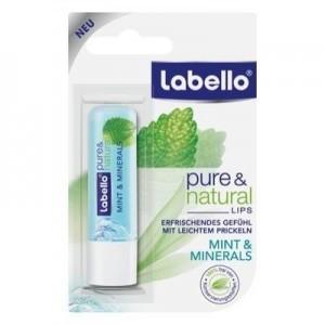 Labello Pure And Natural Mint & Minerals