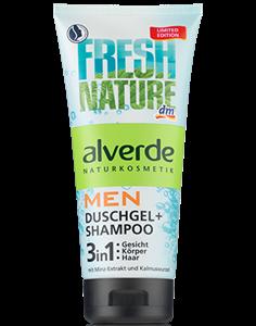 Alverde Men Duschgel + Shampoo 3in1