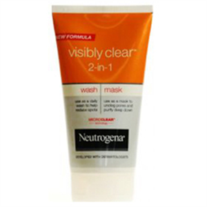Neutrogena Visibly Clear 2-in-1 Arclemosó és Maszk