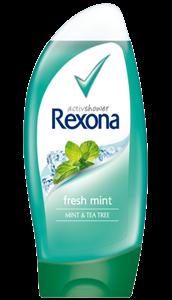 Rexona Fresh Mint Tusfürdő Mint & Tea Tree