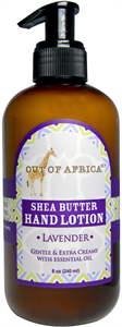 Out Of Africa Shea Butter Hand Lotion - Lavender